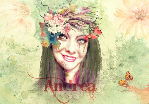 Andrea Watercolor by cespra2002