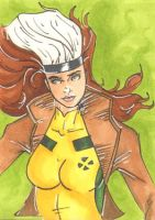 Rogue Sketch Card by wheels9696