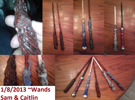 Custom Harry Potter Wands by Forlork