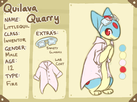 Quilava Quarry Littlequil NPC by Jemanite