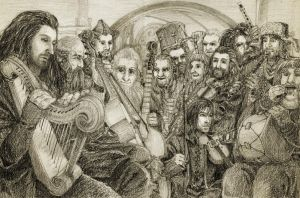 The Hobbit - An Unexpected Party by Nazgullow