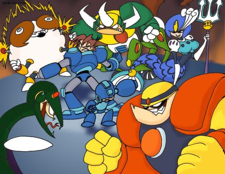 MegaMan Tribute Contest 1 by DarylT