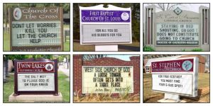 Favorite Church Marquees by CuttingRoom