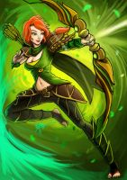 0394: windrunner Dota2 by Agito666