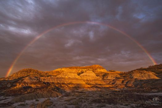 Badlands Rainbow by MarshallLipp