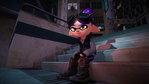 Casual Jonathan The Inkling (Splatoon Gmod Poster) by Johnny-Inkling