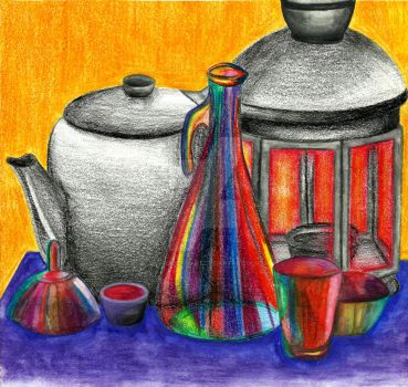 Super color Still life by CaraLeighArt