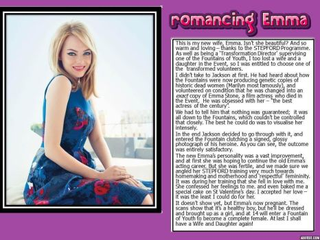 romancing Emma (a request for HassouTobi27) by p-l-richards