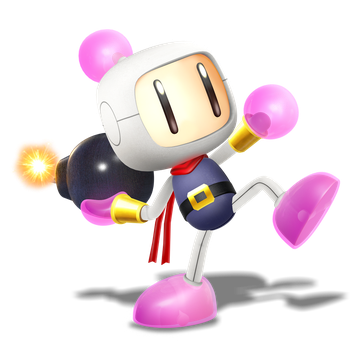 Smashified Style Bomberman! Render of 4/4 by Nibroc-Rock