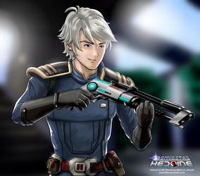 Finian - Cosmic Star Heroine by slash000