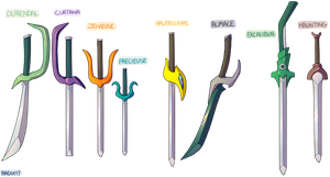 AI Swords by General-RADIX