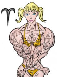 MuscleZodiac-Aries by Luis3iguel