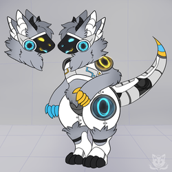 Comm: Portal protogen by ThePyroKitty