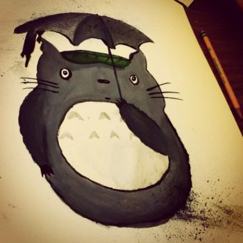 Totoro Painting by ZomB-G