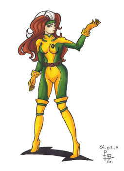 Rogue by Mademoiselle-Falki