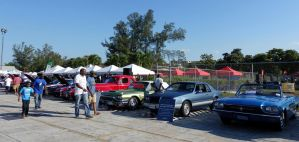 Antiques Car Show wide 3 by NativeStew
