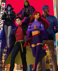 Teen Titans by MeTaa