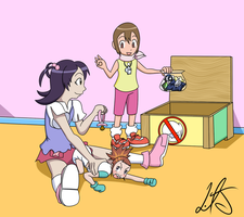 [COMM'D] Crossover Creche 6: Rika's Enrollment by bask25456