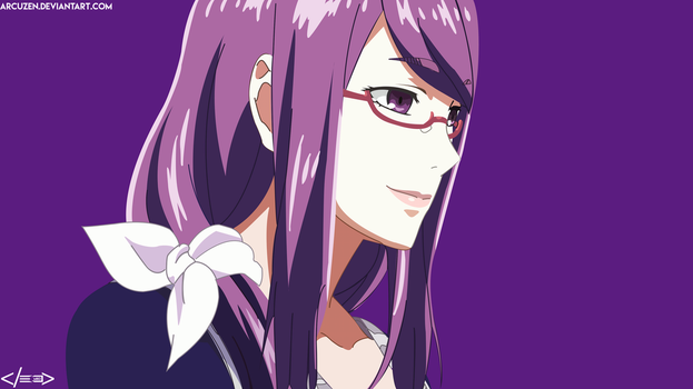 Rize - Tokyo Ghoul [Vector] by Arcuzen