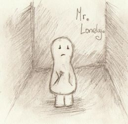 Im Mr Lonely.. by cherry-bomb94