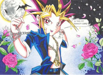 Dreamscape Vampire Yami by The-Mistress-of-Time