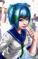 Earth-chan by SatsuiNoHado