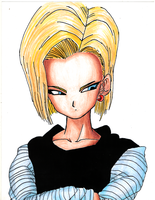 Android Number 18 by VGLR