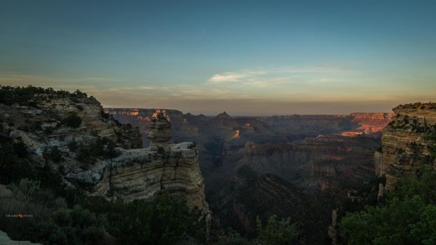 Grand Canyon Sunset by Enigma-Fotos