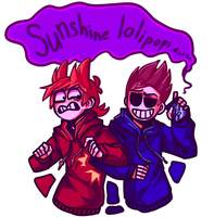 Tom and Tord from Eddsworld by Zimizak