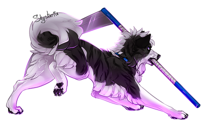 Finished YCH | Scythe by SkyWolff