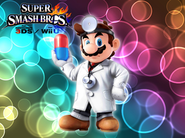 Super Smash Bros. Wii U / 3DS  - Dr. Mario by Legend-tony980