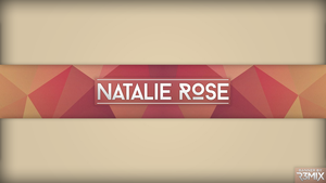NatalieRose LowPoly YouTube Banner by R3mix97
