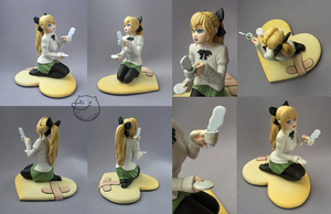 teatime with Lilly [figurine] by CadaverCrafts