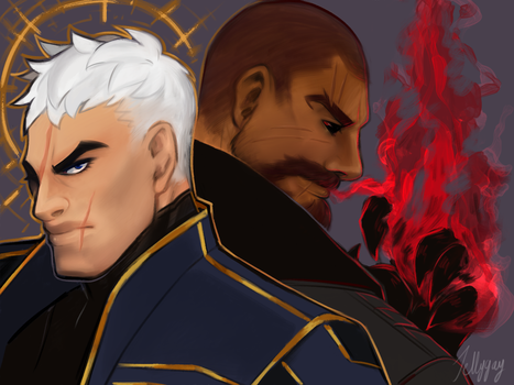 R76: Dishonored AU by Jellygay