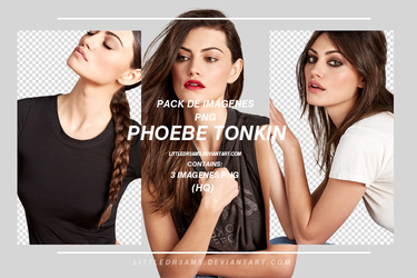 PHOEBE TONKIN PACK PNG by LittleDr3ams