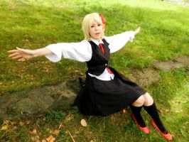 Rumia-chan by NameLessChemist