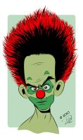 Piddles The Indignant Clown by dhulteen