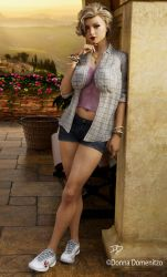 An American Girl in Italy by donnaDomenitzo