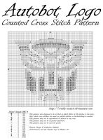 Autobot Logo CCS Pattern by crafty-manx