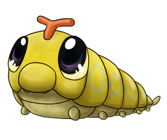 #10: Caterpie by Alex-namn