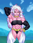 Android 21 by NeroScottKennedy