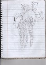 Cringy Art Number idk: electric dragon adult pose2 by NeonDecrypter
