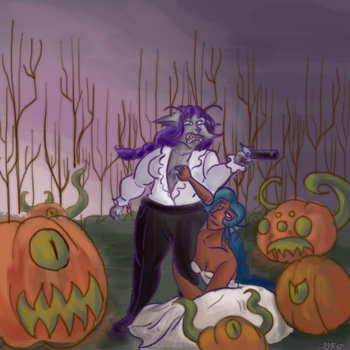Kill The Pumpkins by Laylabelle97