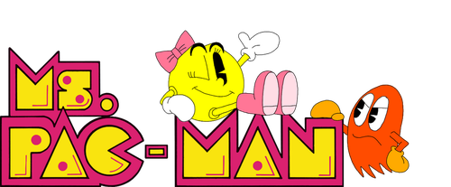 Ms. Pac-Man Marquee Remake by Mister-Meade