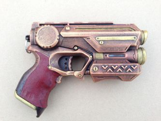 Steampunk Nerf Firestrike Elite by KaitanTylerguy