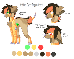 Modified Cyber Doggo Adopt *CLOSED* by FUDANSHl