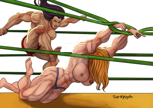 [C] Wrestler 18 by roemesquita