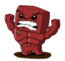 -Super Duper Meat Boy- by busted-pc