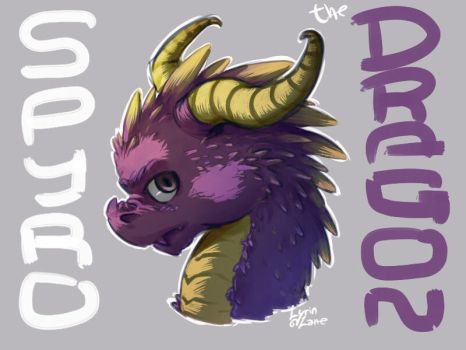 Li'l SPYRO by Lyrin93