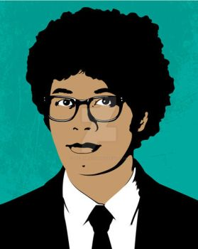 Richard Ayoade by Eric2Dimensions